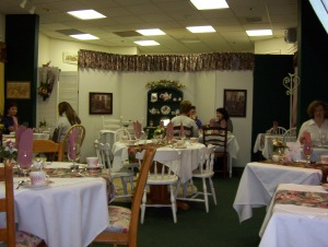 Tea Room Interior